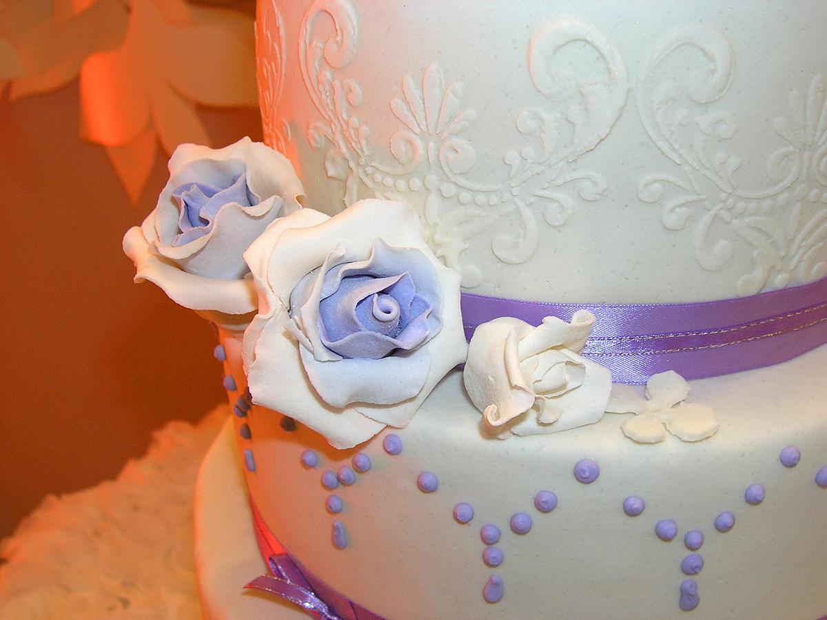 Торт из мастики на 1 год свадьбы фото