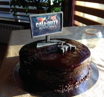 муссовый торт call of duty