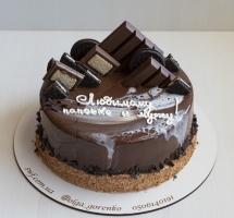 муссовый торт с шоколадом