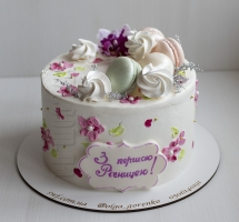 "торт ""Ситцевая свадьба"""