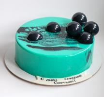 муссовый торт с шариками