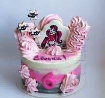 кремовый торт Monster High
