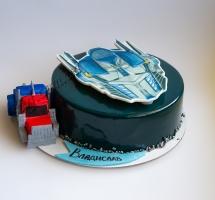 муссовый торт трансформеры