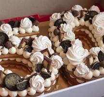 медовый торт на юбилей