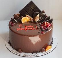 муссовый торт с шоколадом и орео