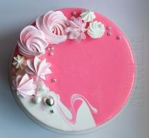 муссовый тортик с меренгами