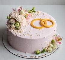 торт с кольцами