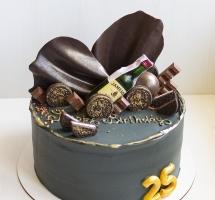 тортик к шоколадным твистом