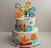 кремовый торт Фиксики