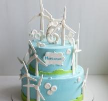 """торт """"Ветряки"""""""