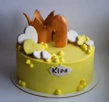 кремовый торт с пряниками