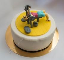 мастичный торт качку