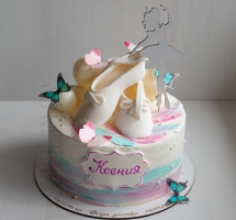 торт с пуантами