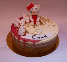 муссовый торт Китти