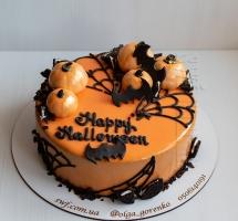 муссовый торт Halloween