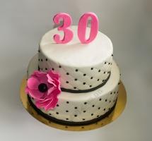 торт мастичный 30