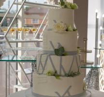 свадебный четырехъярусный