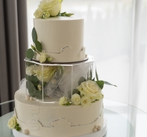 свадебный торт с боксом