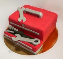 мастичный торт механику