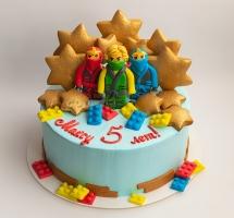 кремовый торт Лего Нинзяго