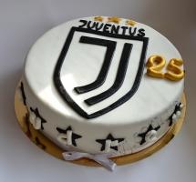 мастичный торт Juventus