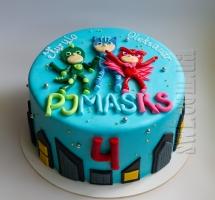 "Мастичный торт ""PJ Masks"""