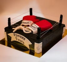 мастичный торт бокс