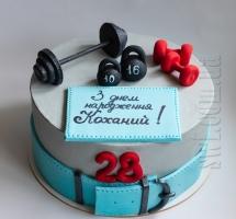 Кремовый торт тяжелоатлету