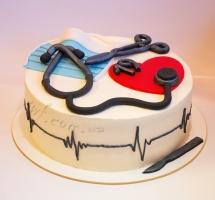 кремовый торт медику