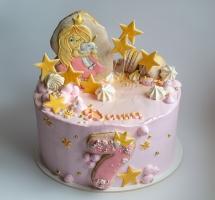 "торт ""принцесса и единорог"" девочке"