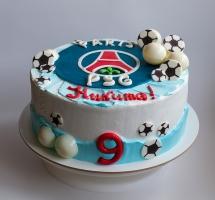 Кремовый торт юному фану