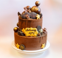 шоколадный торт мужчине