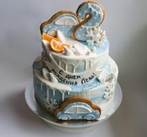 кремовый торт с имбмрными пряниками