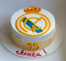 кремовый торт футбольному фану