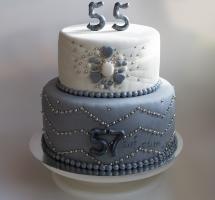 тарт мастичный на два дня рождения