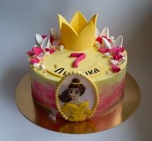 кремовый торт принцесса