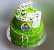 кремовый торт Футбол
