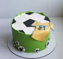 """Кремовый торт """"Футбол"""""""