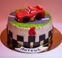 кремовый торт Тачки