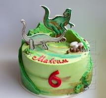"""кремовый торт """"Динозавры"""""""