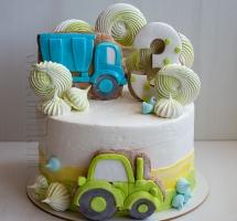 кремовый торт мальчику