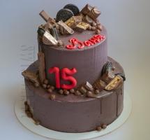 Шоколадный торт юноше