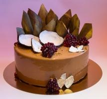 муссовый торт кокос