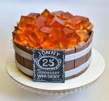 """жилейный торт """"Виски"""""""