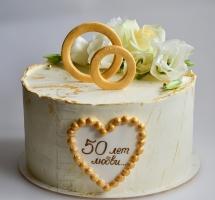 торт на юбилей свадьбы