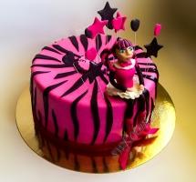 торт Monster High (Монстер Хай)