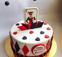 торт Харли Квинн (Harley Quinn)