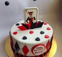 мастичный торт Харли Квинн