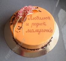 муссовый торт с макароном