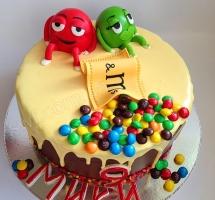 торт M & M`s